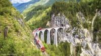 6 Tage - Schweizer Bahnenzauber im Sommer  mit dem Bernina und Glacier Express